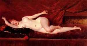 William Merritt Chase - A Study in Curve