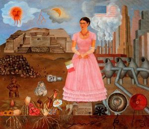Frida Kahlo - Self-Portrait sul bordeli..