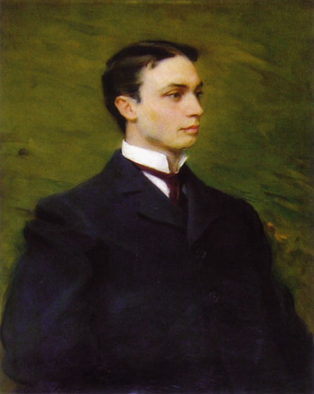 Henry Howard Houston, Jr., olio di Cecilia Beaux (1855-1942, United States)