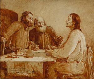 Cecilia Beaux - Cena in Emmaus