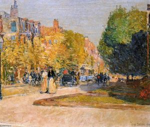 Frederick Childe Hassam - Marlborough Strada , Bost..