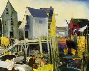 George Wesley Bellows - Matinicus