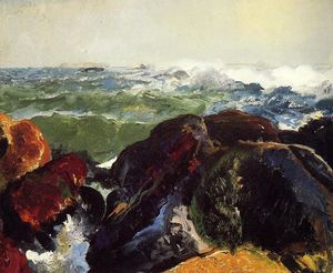 George Wesley Bellows - Monhegan Island