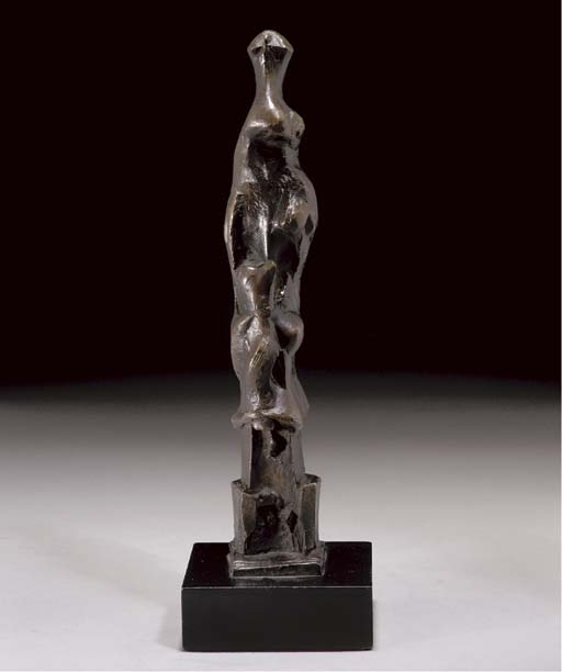 Motive Upright E di Henry Moore (1898-1986, United Kingdom) | ArtsDot.com