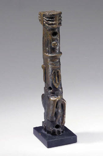 Motive Upright; Maquette No. 4 di Henry Moore (1898-1986, United Kingdom) | Riproduzione Art | ArtsDot.com