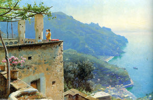 Peder Mork Monsted - La costa Ravello