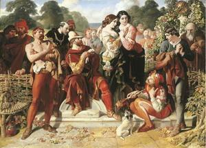 Daniel Maclise - The Scene Wrestling in Come vi piace