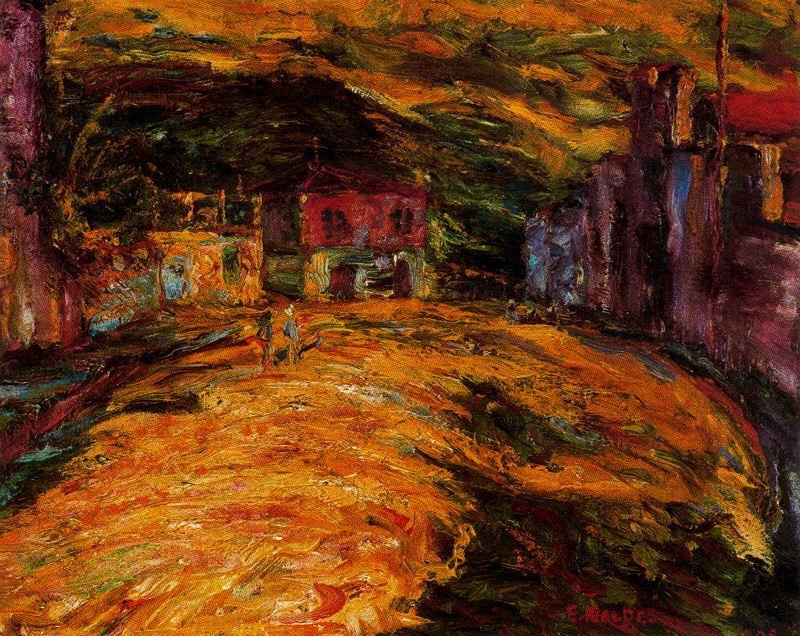 Piazza San Domenico di Emile Nolde (1867-1956, Germany)