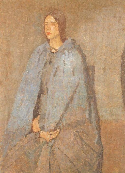 The Pilgrim di Gwen John (1876-1939, United States)