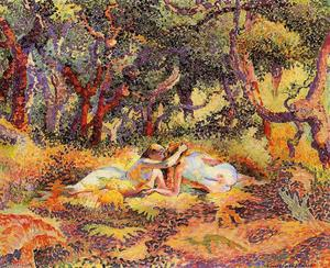 Henri Edmond Cross - La Foresta