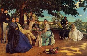 Jean Frederic Bazille - Il Family Gathering
