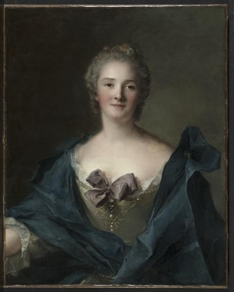 ritratto di una woman di Jean-Marc Nattier (1685-1766, France)