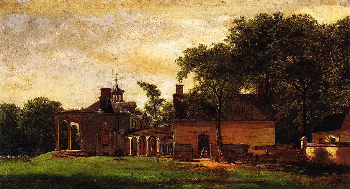 The Mount Vernon Vecchio di Jonathan Eastman Johnson (1824-1906, United Kingdom)