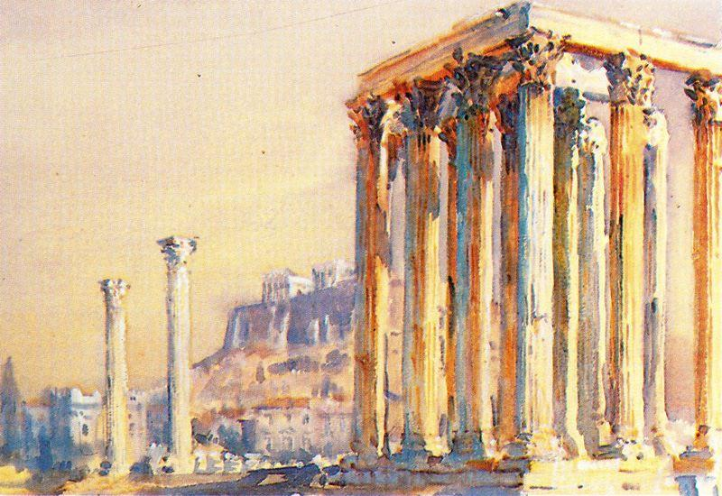 Atene di Jorge Apperley (George Owen Wynne Apperley) (1884-1960, United Kingdom) | ArtsDot.com