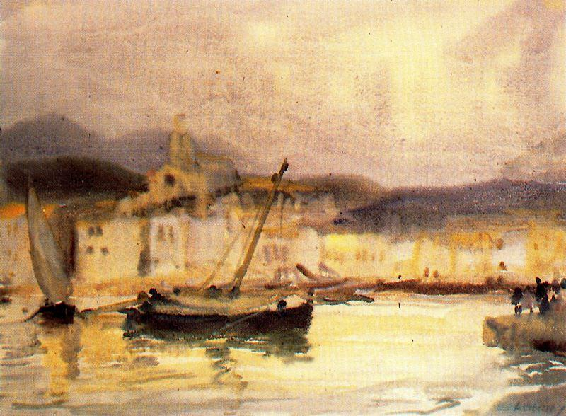 Cadaqués 1 di Jorge Apperley (George Owen Wynne Apperley) (1884-1960, United Kingdom)