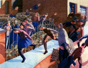 Stanley Spencer - Entrata in Gerusalemme di Cris..