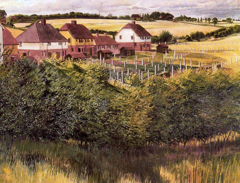 Cookham aumento di Stanley Spencer (1891-1959, United Kingdom)