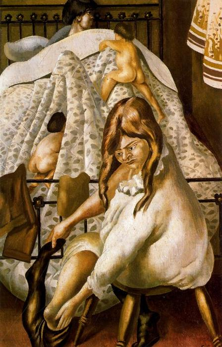 Andando a letto di Stanley Spencer (1891-1959, United Kingdom) | ArtsDot.com