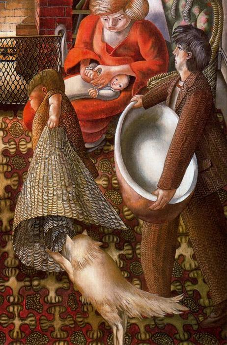 Hilda e io in Burghclere di Stanley Spencer (1891-1959, United Kingdom)