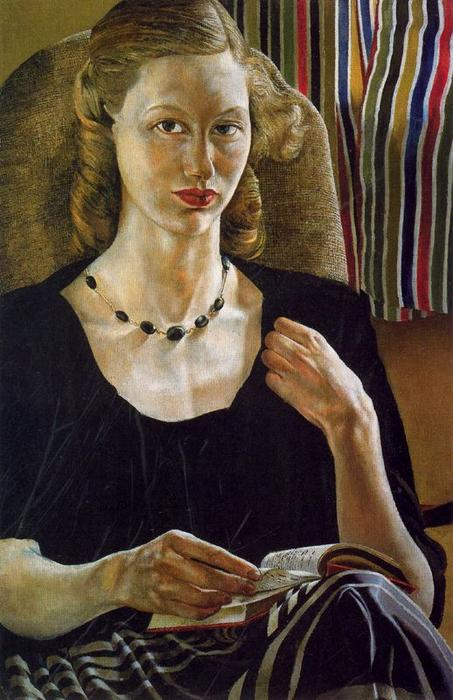 Ritratto di Daphne Spencer di Stanley Spencer (1891-1959, United Kingdom) | ArtsDot.com