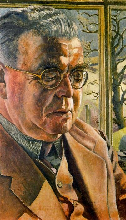 Ritratto of J . L . Behrend di Stanley Spencer (1891-1959, United Kingdom)