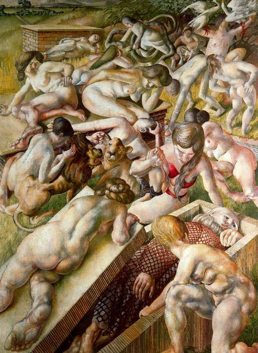 Sin título 1 di Stanley Spencer (1891-1959, United Kingdom)