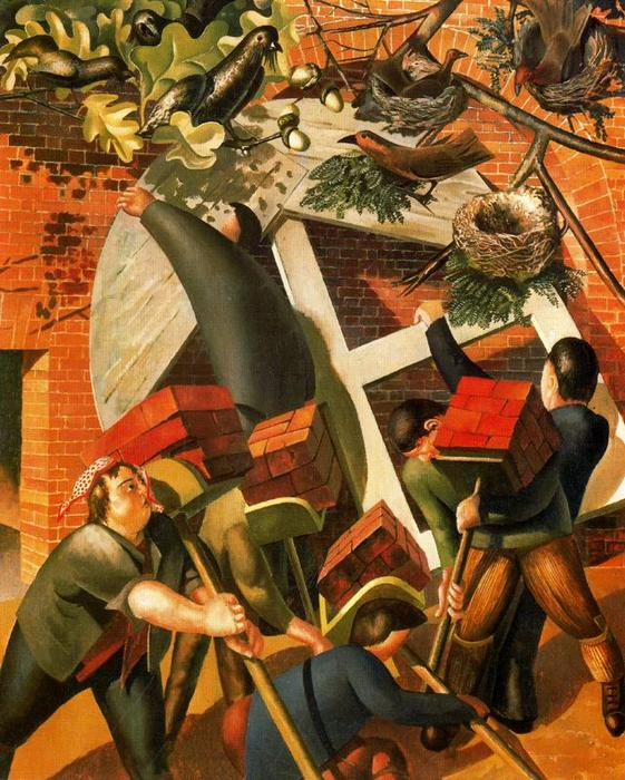 I Costruttori di Stanley Spencer (1891-1959, United Kingdom)