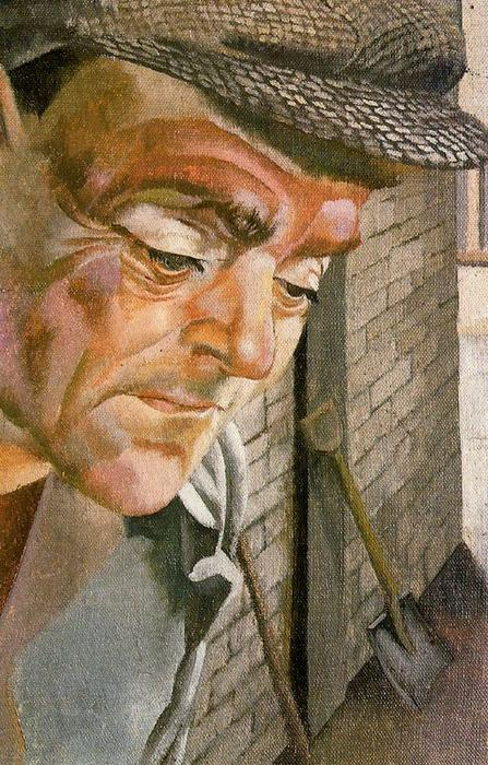 The Furnace Man di Stanley Spencer (1891-1959, United Kingdom) | Copia Pittura | ArtsDot.com