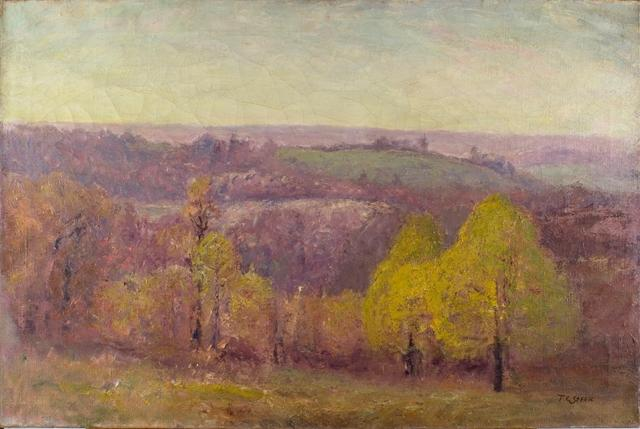 autunno di Theodore Clement Steele (1847-1926, United States)
