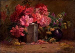 Theodore Clement Steele - bouquet di fiori