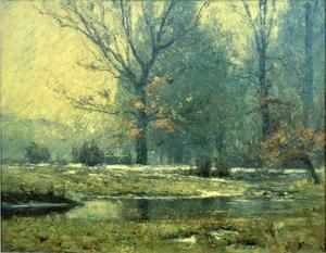Theodore Clement Steele - Creek in inverno