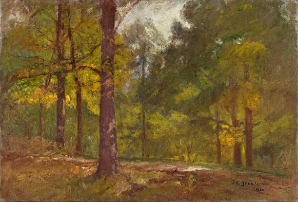 d'oro autunno di Theodore Clement Steele (1847-1926, United States)