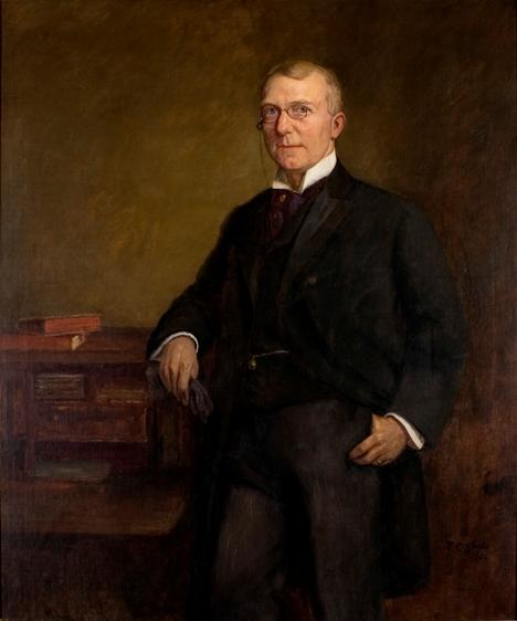 James Whitcomb Riley di Theodore Clement Steele (1847-1926, United States)