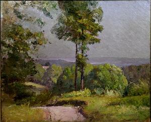 Theodore Clement Steele - Slope-in ​​Nord estate dalla Knoll