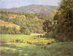Theodore Clement Steele - Roan Mountain