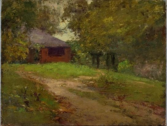 The Home Steele di Theodore Clement Steele (1847-1926, United States) | ArtsDot.com