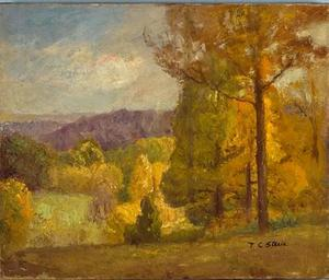 Theodore Clement Steele - Boscosa Colline in autunno