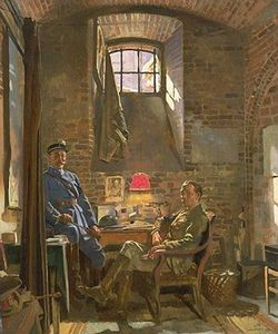 William Newenham Montague Orpen - Cantina, Amiens