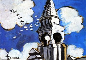 Auguste Chabaud - Church Spire
