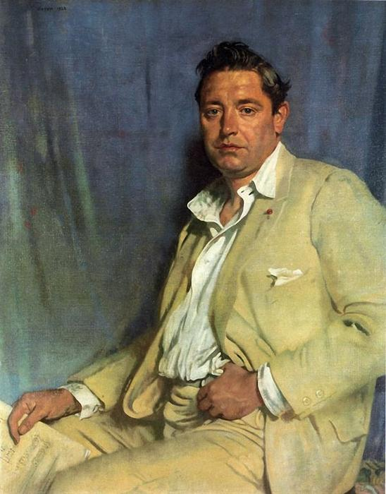 Conte John McCormack di William Newenham Montague Orpen (1878-1931, Ireland)