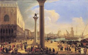 Luca Carlevaris - Il Dock fronte Palazzo Ducale