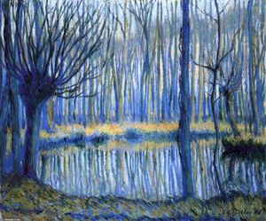 Theodore Earl Butler - Il Epte, Giverny