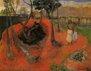 Paul Gauguin - Idillio in tahitgi