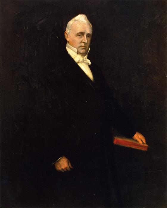 James Buchanan, olio su tela di William Merritt Chase (1849-1916, United States)