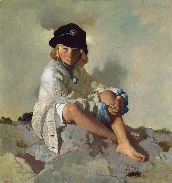 Kit, 1913 di William Newenham Montague Orpen (1878-1931, Ireland)
