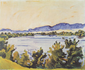 Ferdinand Hodler - Il fiume Aare a Soletta