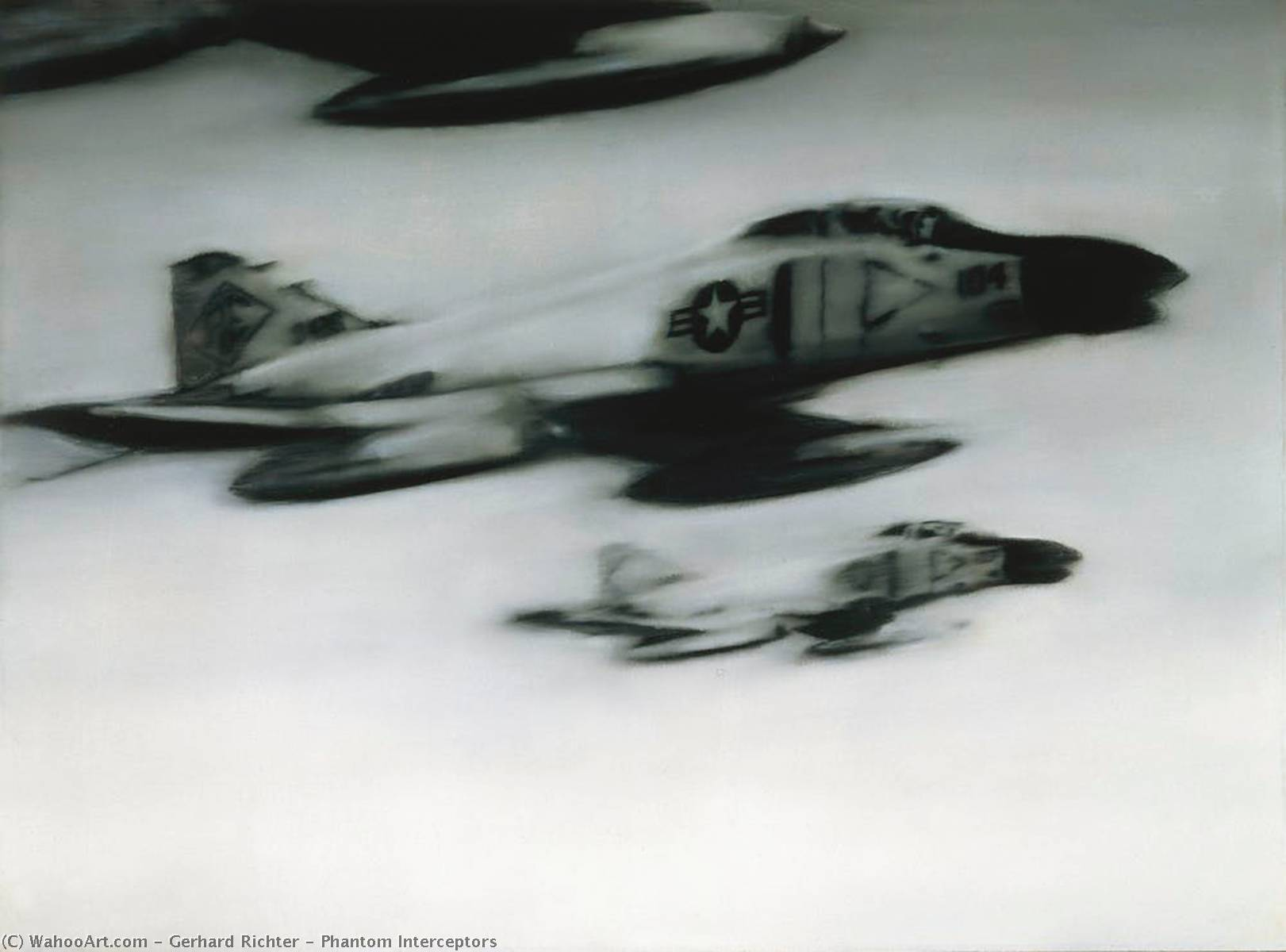 Intercettori Phantom, 1964 di Gerhard Richter