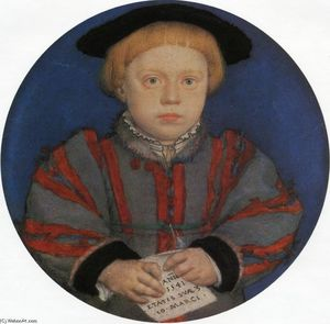 Hans Holbein The Younger - Ritratto di Henry Brandon