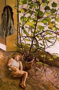 Lucian Freud - Grande Interior, Paddingt..