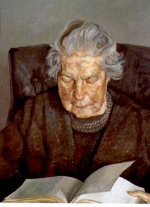 Lucian Freud - il `painter's` madre legg..